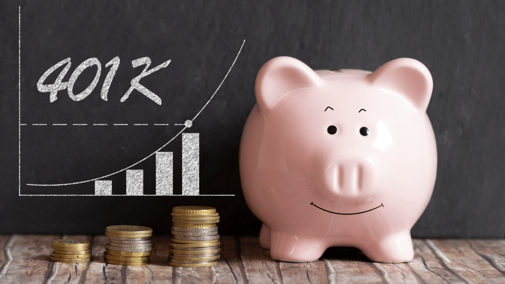Funding a Down Payment - Piggy Bank and 401k