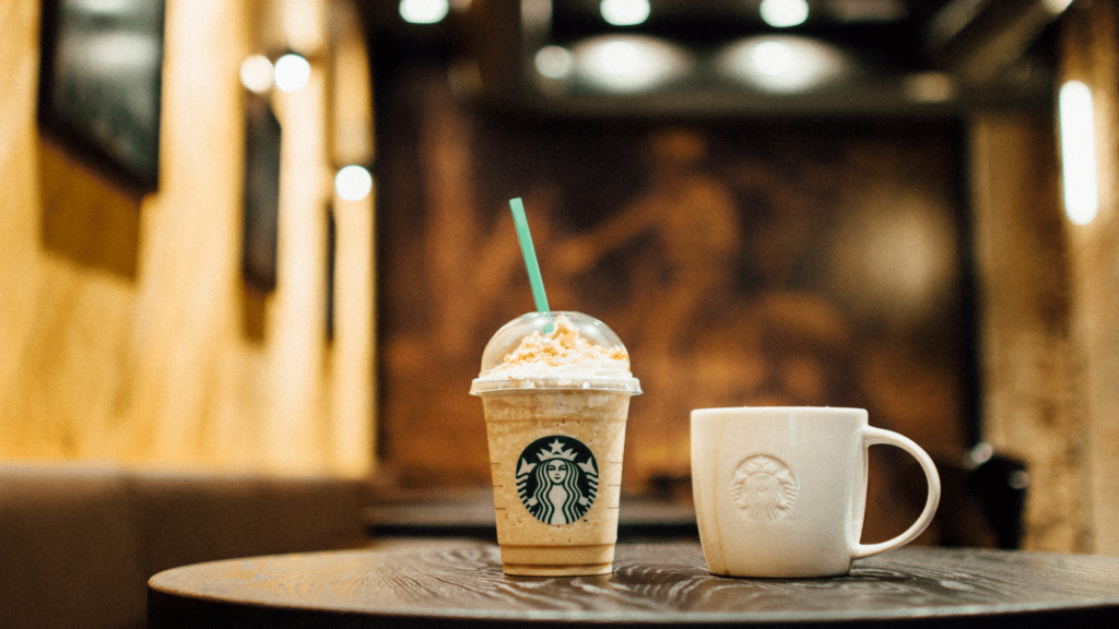 Funding a Down Payment - Starbucks Drinks