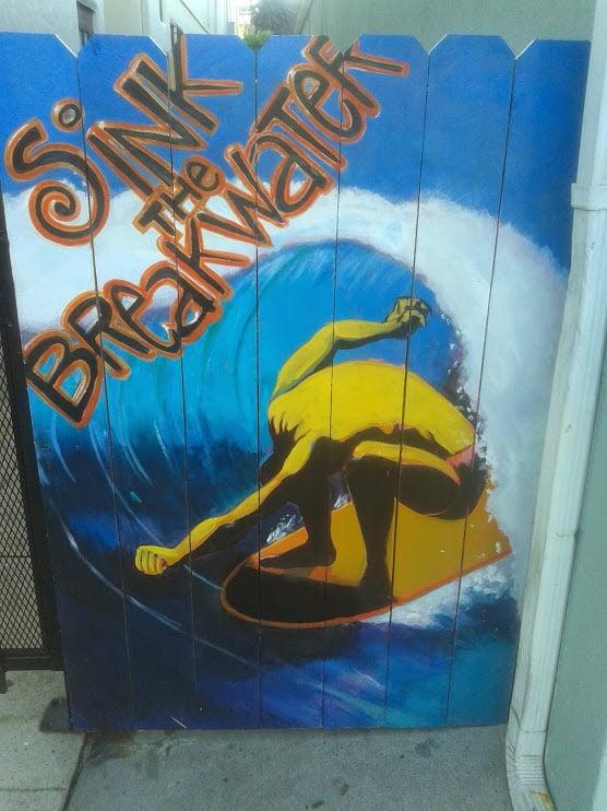 Long Beach Breakwater