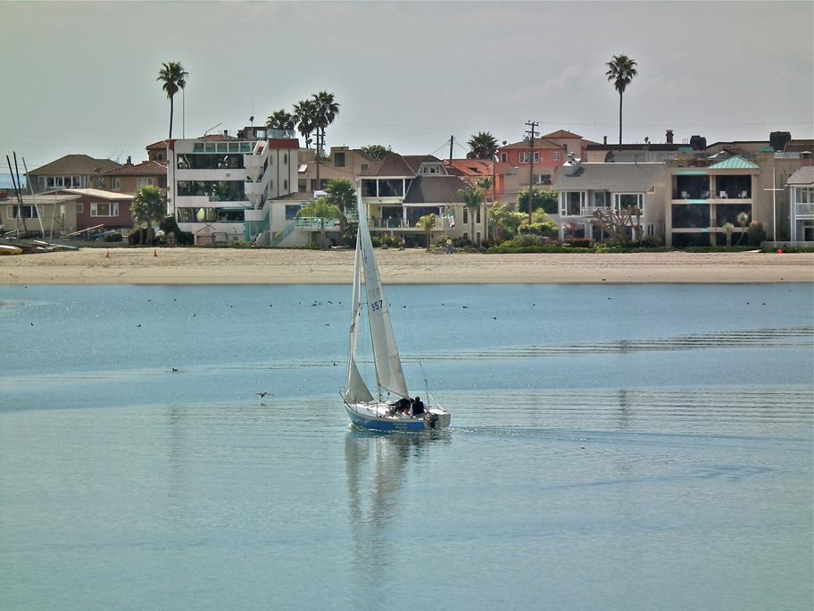 Long Beach's Water Playground