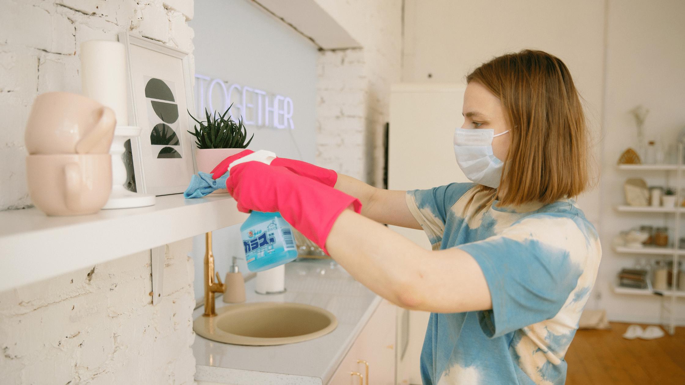 Cleaning for Coronavirus