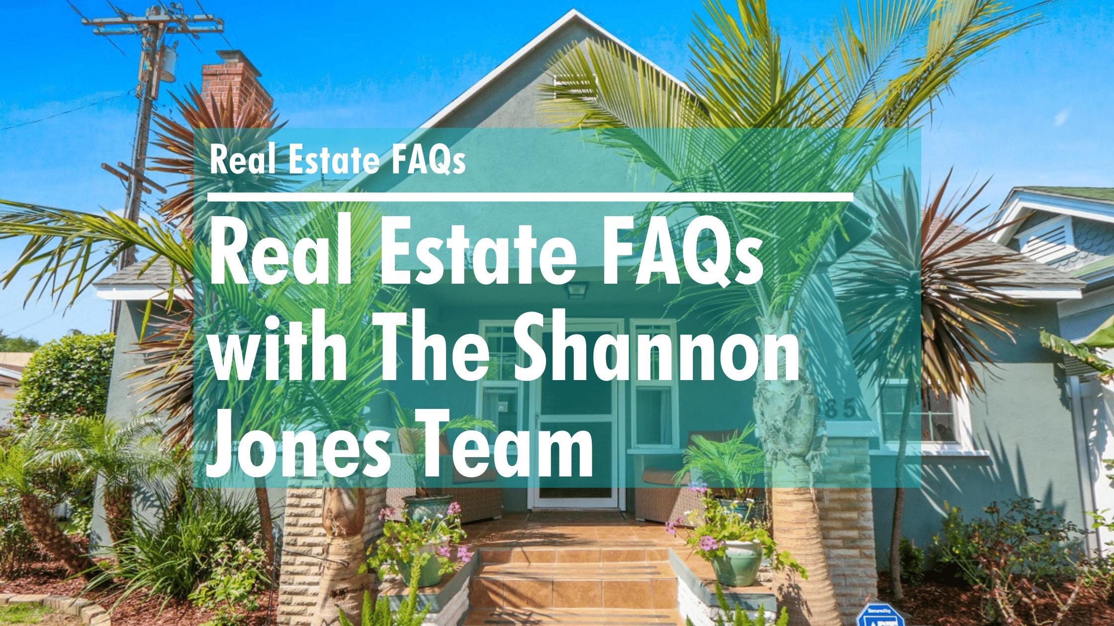 Real Estate FAQs