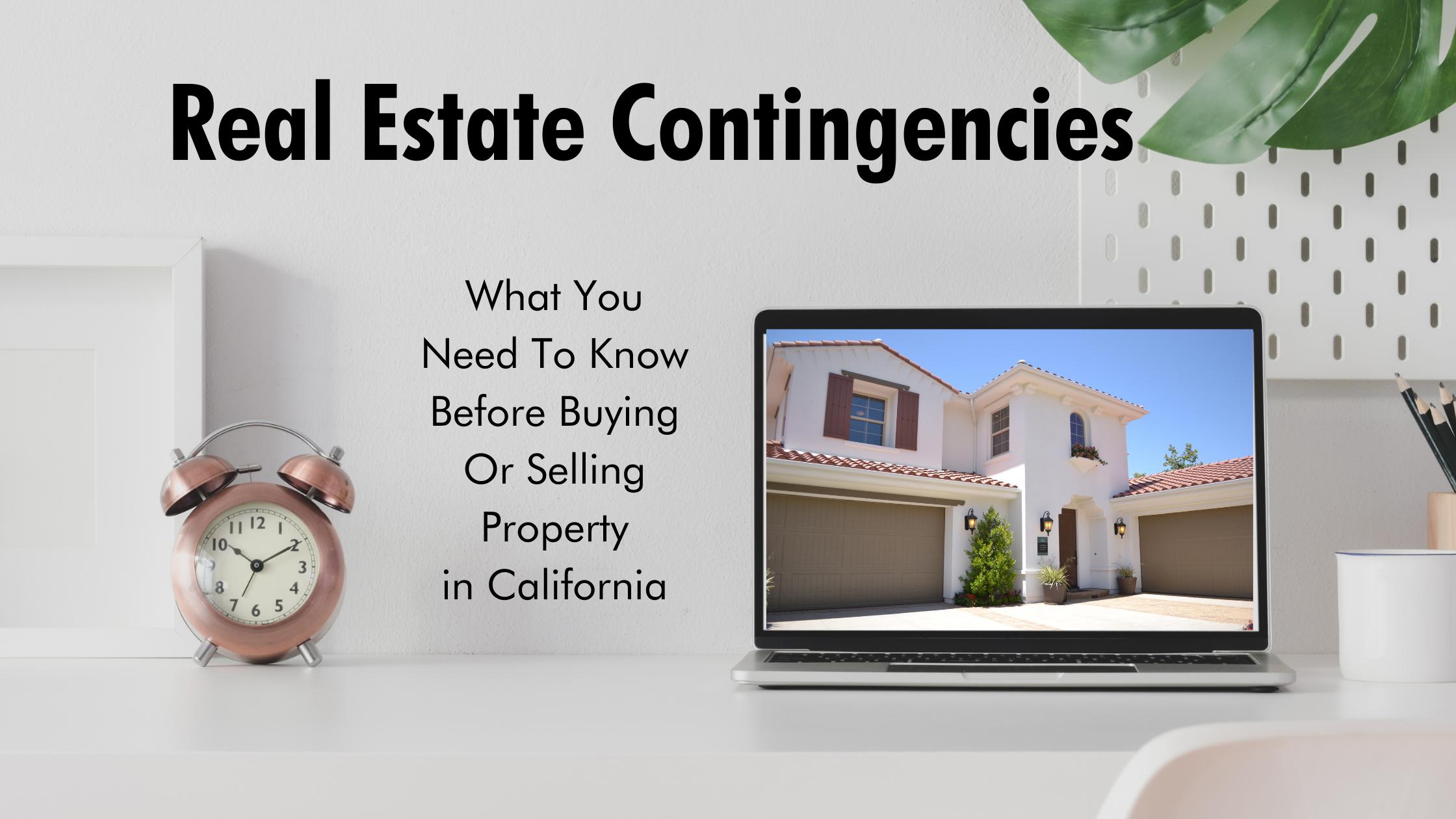 Real Estate Contingencies