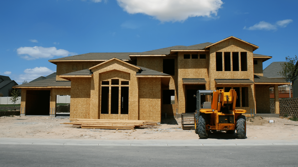 New Construction Blog - Home Under Construction