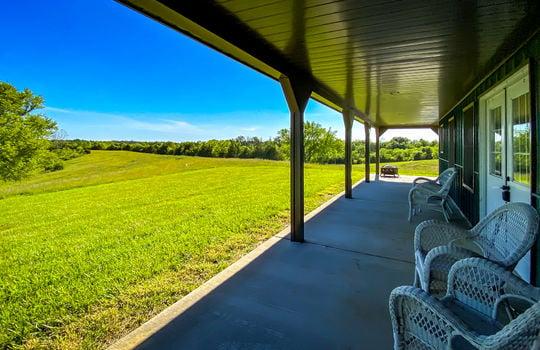 Metal-building-home-log-cabin-Big-Land-200-acre-Getaway-Property-068