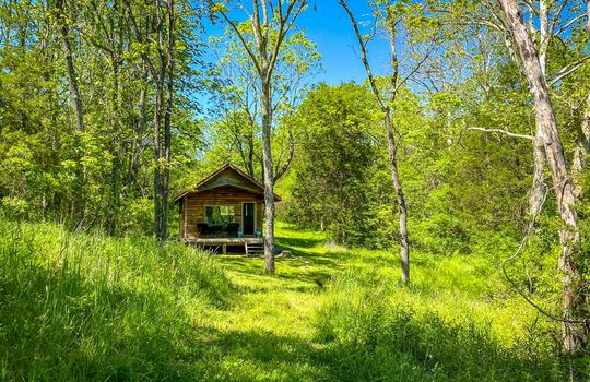 Metal-building-home-log-cabin-Big-Land-200-acre-Getaway-Property-097