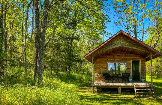 Metal-building-home-log-cabin-Big-Land-200-acre-Getaway-Property-098