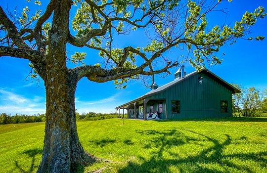 Metal-building-home-log-cabin-Big-Land-200-acre-Getaway-Property-111
