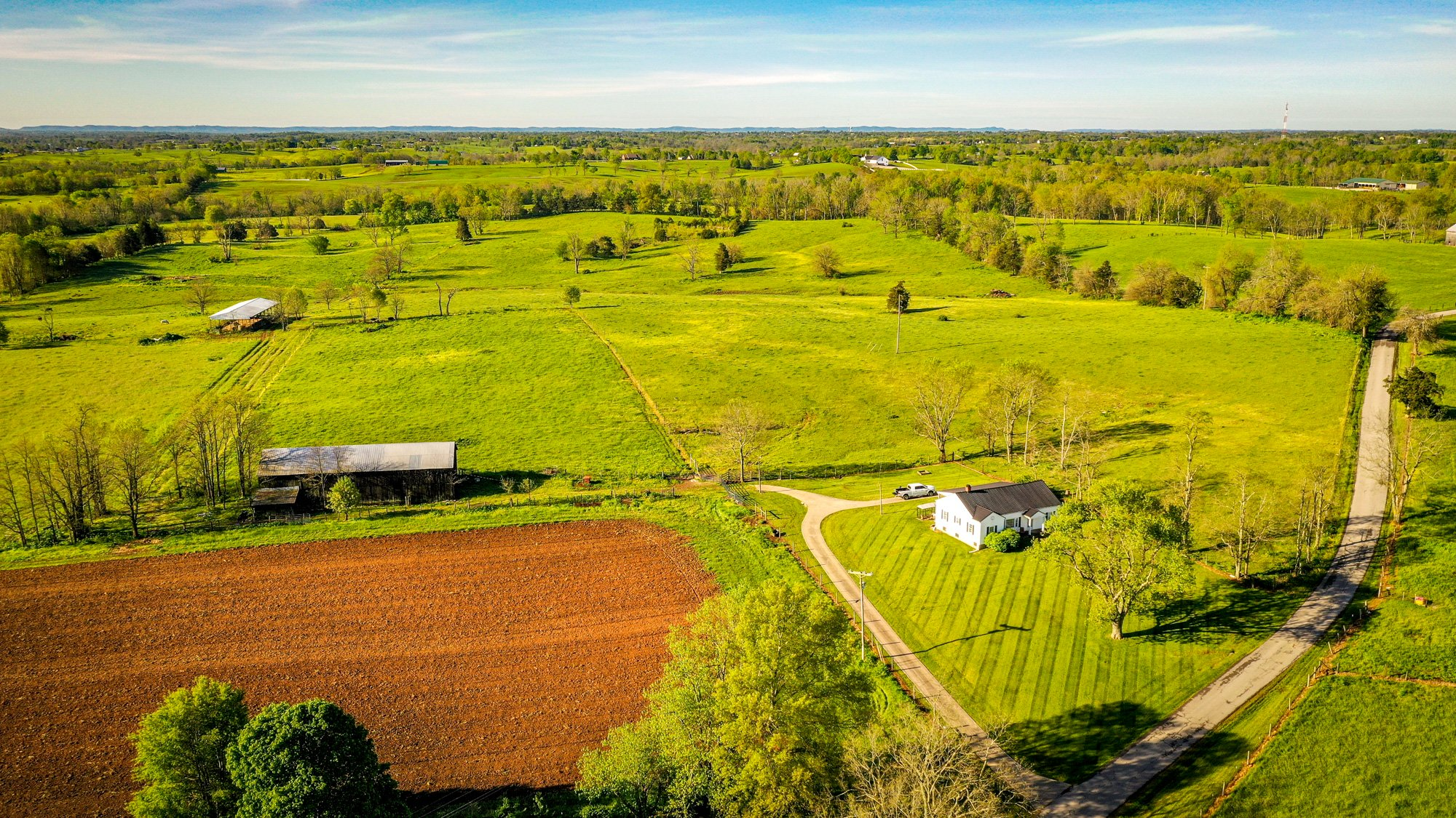 Small House Big Land 84 Acres Cattle Land For Sale In Kentucky Bluegrassteam