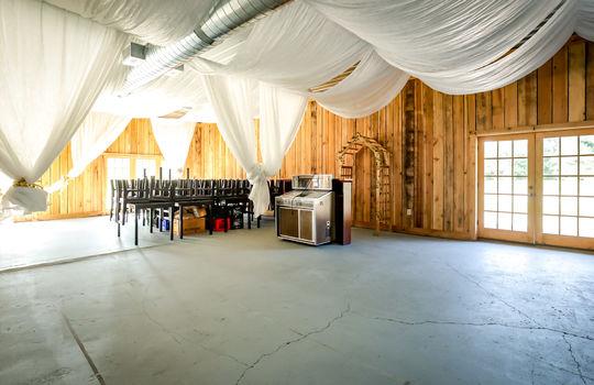 Wedding Venue, Barn wedding venue, event center, banquet hall, commercial property for sale 024