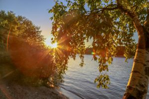 Lake Elbert sun rise