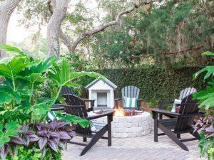 HGTV Dream Home 2017 Backyard Fire Pit