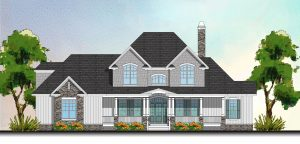 3131 Maple Way Drive Front Elevation