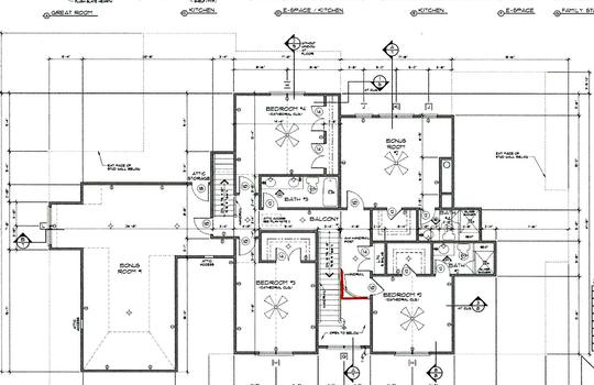3131 Maple Way Drive Second Floor Plan