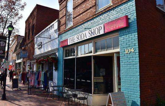 3211 Maple Way Drive Downtown Davidson Soda Shop