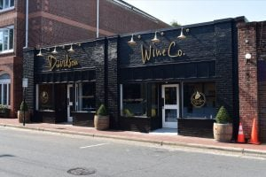 Davidson Wine Company Front Of Store