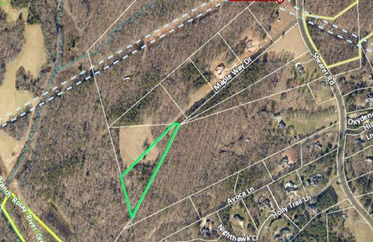 Maple Grove Lot 6 Aerial