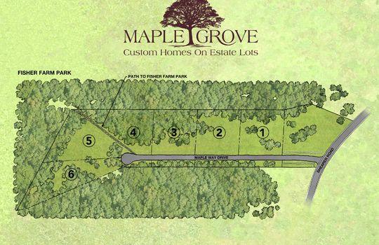 Maple Grove Site Pan Lot 4