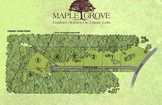 Maple Grove Site Pan Lot 6