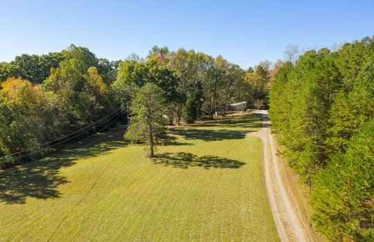 2123 Davis Road aerial front yard 3