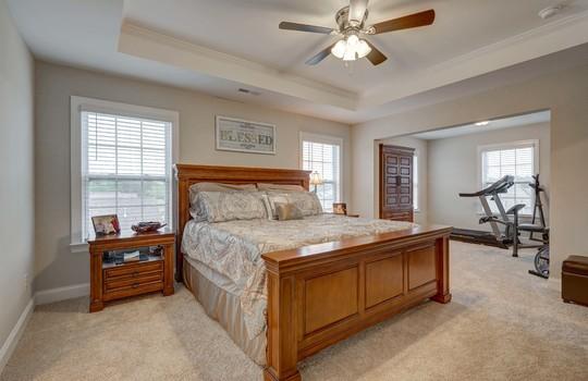 Master Bedroom 1 - 134 Longleaf Dr Mooresville NC - 28117 Allen Adams Realty