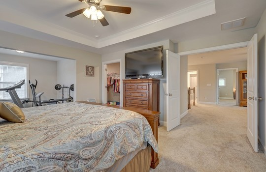 Master Bedroom 2 - 134 Longleaf Dr Mooresville NC - 28117 Allen Adams Realty
