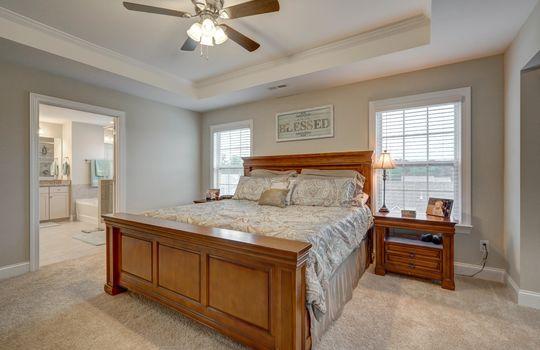 Master Bedroom 3 - 134 Longleaf Dr Mooresville NC - 28117 Allen Adams Realty