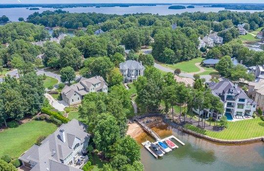15536 Fishermans Rest Court Cornelius NC 28031 – Bill Adams – Allen Adams Realty – aerial back4