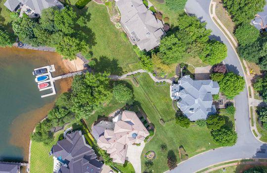 15536 Fishermans Rest Court Cornelius NC 28031 – Bill Adams – Allen Adams Realty – aerial overhead