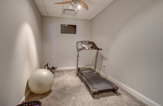 15536 Fishermans Rest Court Cornelius NC 28031 – Bill Adams – Allen Adams Realty – basement gym2