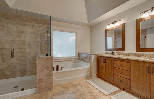 9025 Pennyhill Dr Huntersville NC 28078 - Bill Adams Realtor - Allen Adams Realty - master bath1