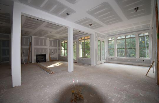 Great Room Breakfast - 3211 Maple Way Drive Davidson NC 28036 - Bill Adams Realtor - Allen Adams Realty - Maple Grove