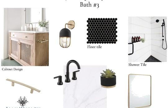 Selections Bathroom 3 - 3211 Maple Way Drive Davidson NC 28036 - Bill Adams Realtor - Allen Adams Realty - Maple Grove
