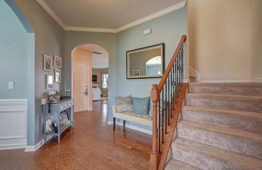 05 – foyer – 110 Wrangell Dr Mooresville NC 28117 – Bill Adams – Realtor – Allen Adams Realty