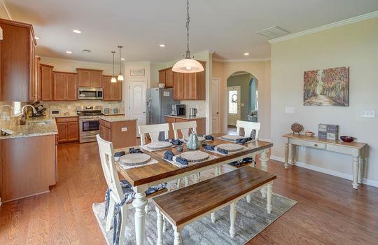 14 – dining room – 110 Wrangell Dr Mooresville NC 28117 – Bill Adams – Realtor – Allen Adams Realty