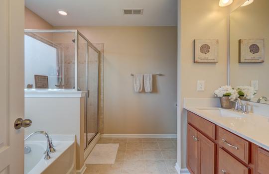 25 – master bath – 110 Wrangell Dr Mooresville NC 28117 – Bill Adams – Realtor – Allen Adams Realty