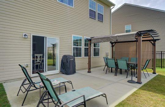 38 -patio – 110 Wrangell Dr Mooresville NC 28117 – Bill Adams – Realtor – Allen Adams Realty