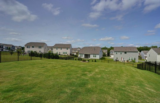 39 – backyard – 110 Wrangell Dr Mooresville NC 28117 – Bill Adams – Realtor – Allen Adams Realty
