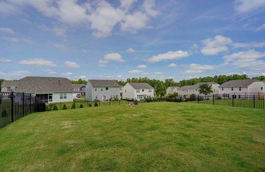 40 – backyard – 110 Wrangell Dr Mooresville NC 28117 – Bill Adams – Realtor – Allen Adams Realty