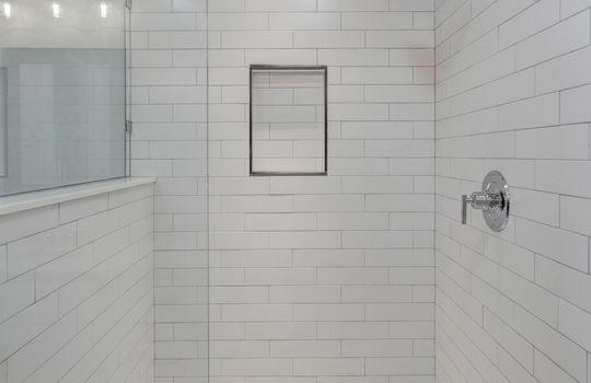 22 – master bath shower