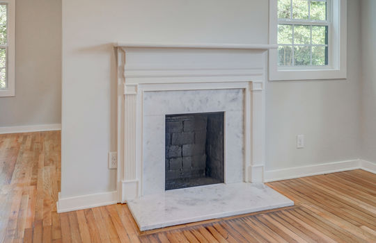 7 – fireplace