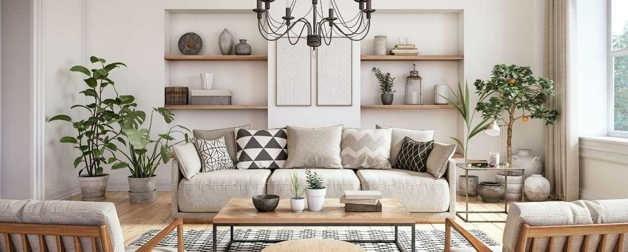 Living Room DIY Home Improvements