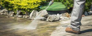 Pressure Washing House & Pathways