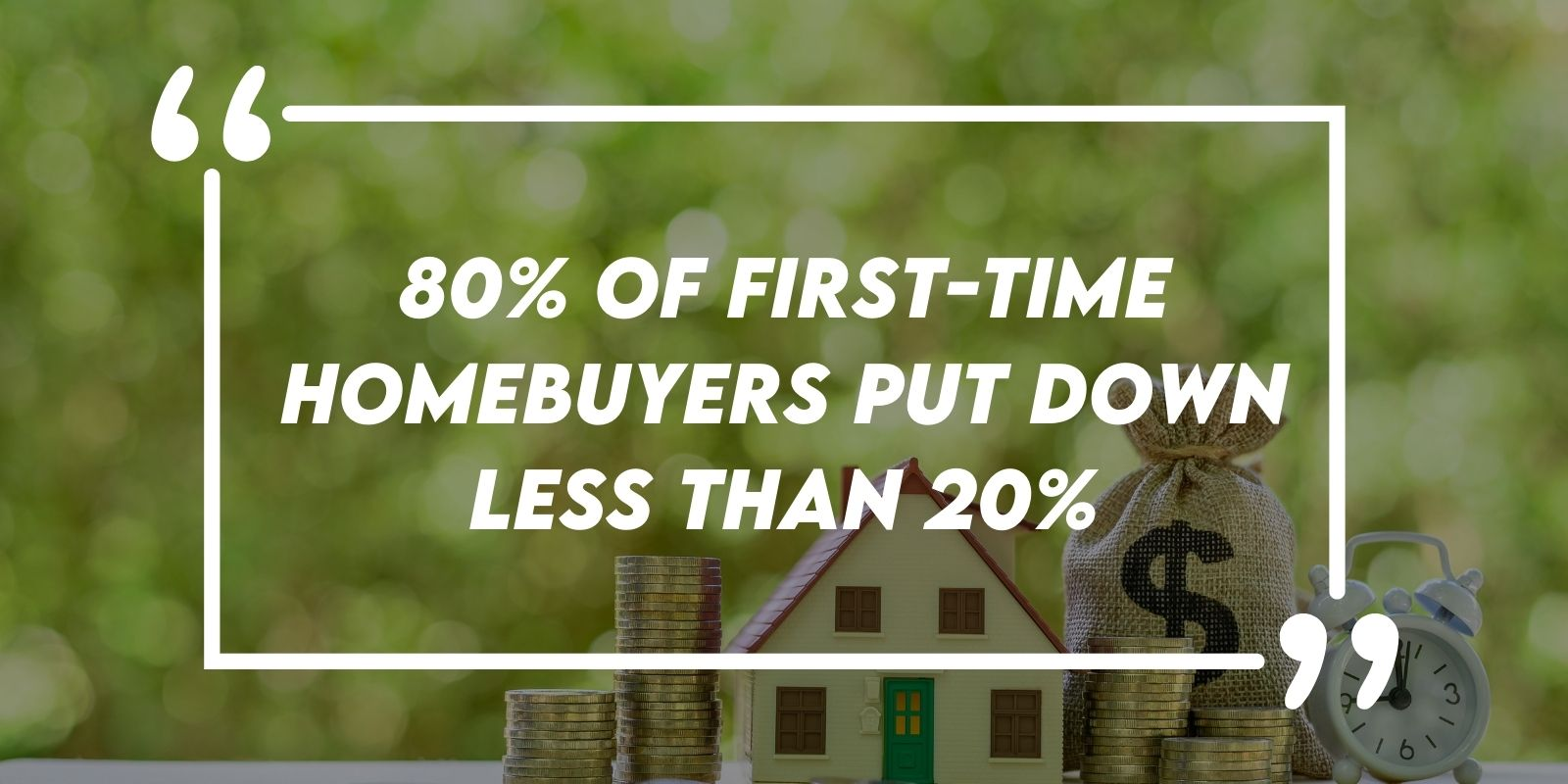 First-Time Homebuyer Down Payments Quote