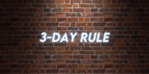 What is the Closing Disclosure 3-Day Rule