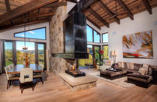 011 1800 Beard Creek Trail_Dining Living Room_Summer