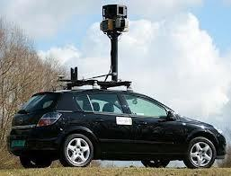 Googlel Earth Street View Car
