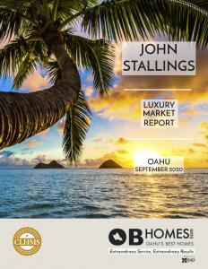 Oahu Luxury Market Report