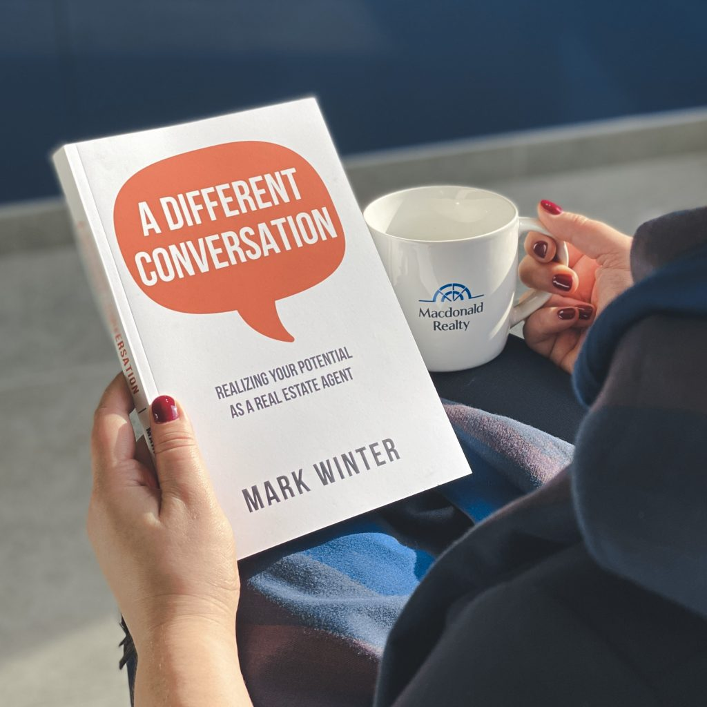 A Different Conversation: New book by Mark Winter coaches real estate agents  to reframe how they interact with clients