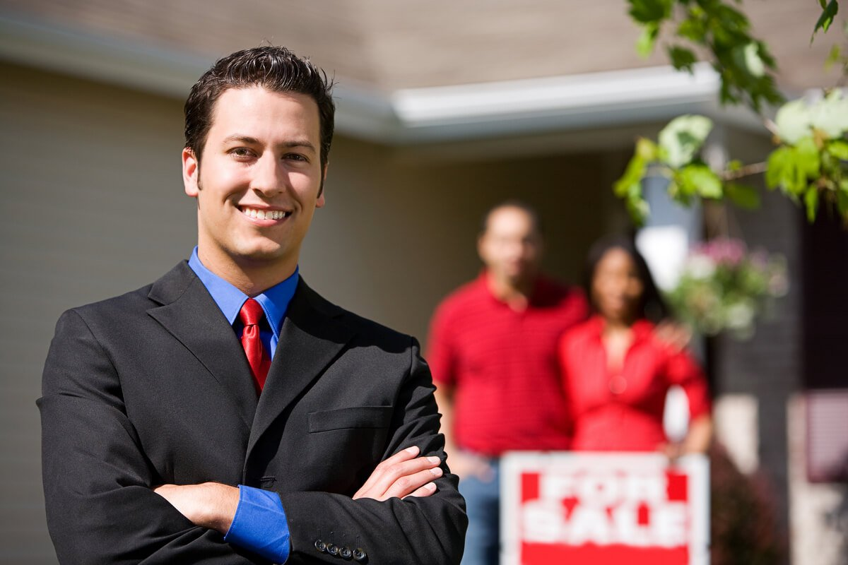 Hire a real estate agent when you buy a new home